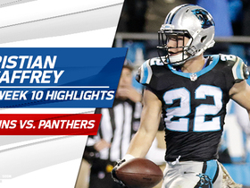 Christian McCaffrey highlights | Week 10