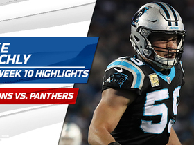 Luke Kuechly highlights | Week 10