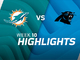 Watch: Dolphins vs. Panthers highlights | Week 10