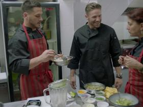 'Going Global': Who's the better cook: Edelman or Amendola?