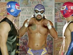 'Going Global': Edelman and Amendola try Mexican wrestling