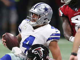 Slater: Dak 'felt fine' after being sacked eight times in Week 10