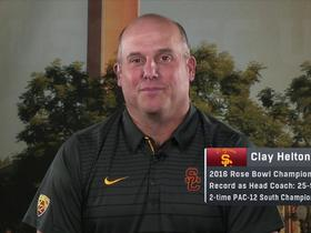 Clay Helton: Get Adoree' the ball, and he'll do the rest