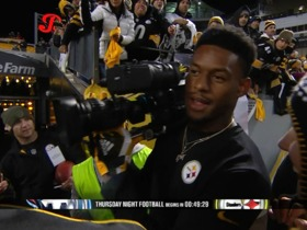 JuJu Smith-Schuster: Rookie, star receiver... and camera man!