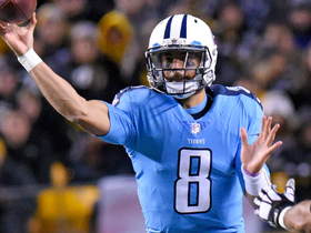 SkyCam captures Mariota's pinpoint 24-yard pass to Eric Decker