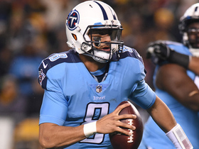 Marcus Mariota's pass gets tipped, Steelers grab third INT