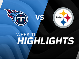 Titans vs. Steelers highlights | Week 11