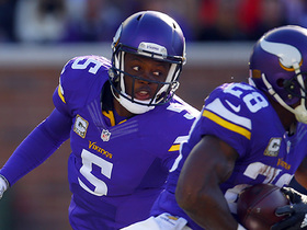 Watch: Throwback:  A.P., Teddy B lead Vikes past Rams in 2015