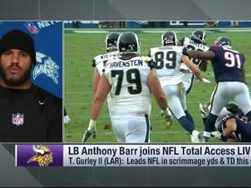 Watch: Barr: 'Our first goal' is shutting down Gurley this week
