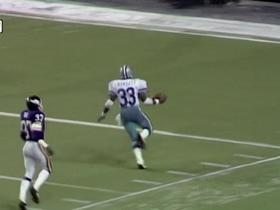 Watch: No. 10 Tony Dorsett runs for longest play in NFL history | 'Top 10': Amazing Runs