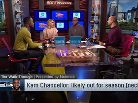 Watch: Garafolo: Kam Chancellor expected to miss the rest of the season