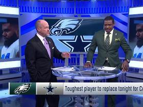 Watch: Toughest player to replace tonight for Cowboys
