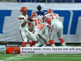 Watch: Rapoport: Browns owner Jimmy Haslam met with players this week