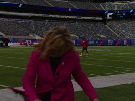 Watch: Jones: Strong winds at MetLife Stadium are 'no joke'