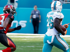 Damien Williams puts T.J. Ward on skates on monster 69-yard run