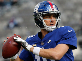 Watch: Eli Manning passes Peyton for most consecutive starts