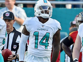 Jarvis Landry reaches for a seamless one-handed grab
