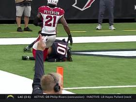 Watch: DeAndre Hopkins beats Patrick Peterson for 28-yard TD