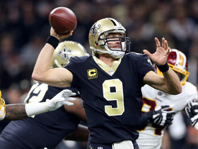 Watch: Drew Brees finds Michael Thomas for 24 yards to put Saints in FG range