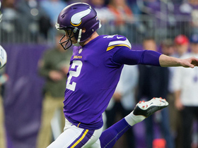 Watch: Kai Forbath bounces missed field goal off post