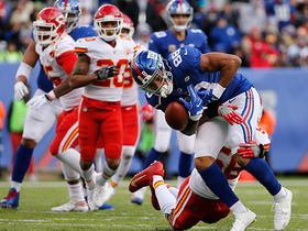 Watch: Chiefs halt Giants on key fourth down conversion