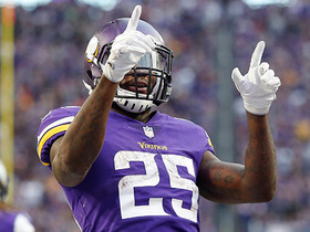 Vikings push Latavius Murray into the end zone for 2-yard TD