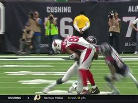 Ricky Seals-Jones' first NFL reception is for a 15-yard gain