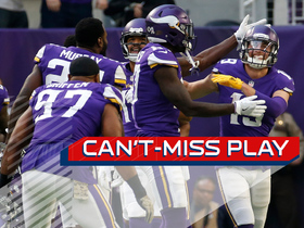 Watch: Can't-Miss Play: Thielen ZOOMS past Rams' D for 65-yard TD