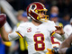 Watch: Kirk Cousins drops pinpoint pass to Vernon Davis for 36 yards