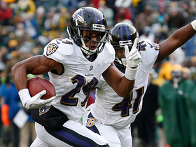 Marlon Humphrey picks off Brett Hundley for first career interception