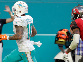 Watch: Kenny Stills outruns Justin Evans for 61-yard game-tying TD