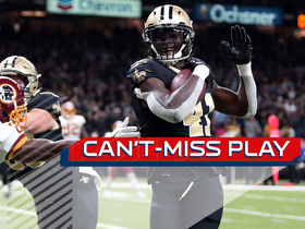 Can't-Miss Play: Kamara's bobbling act somehow turns into TD