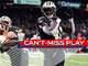 Watch: Can't-Miss Play: Kamara's bobbling act somehow turns into TD