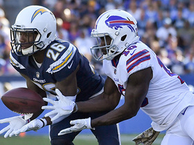 Peterman throws second INT, Casey Hayward dives to snag it