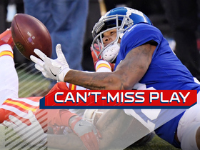 Watch: Can't-Miss Play: Roger Lewis makes remarkable catch to set up Giants' game-winner