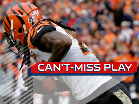 Watch: Can't-Miss Play: Kirkpatrick's 101-yard INT return nearly ends in disaster