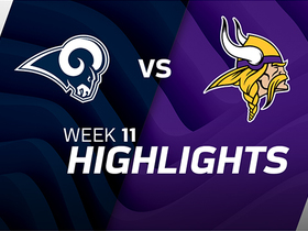 Watch: Rams vs. Vikings highlights | Week 11