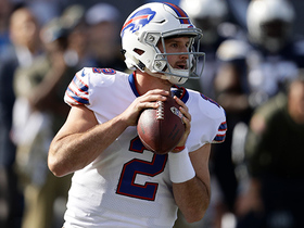 Watch: Rough debut: Rookie Peterman throws third INT of first half