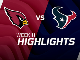 Cardinals vs. Texans highlights | Week 11