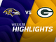 Watch: Ravens vs. Packers highlights | Week 11