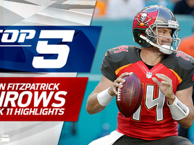 Ryan Fitzpatrick Top 5 throws | Week 11