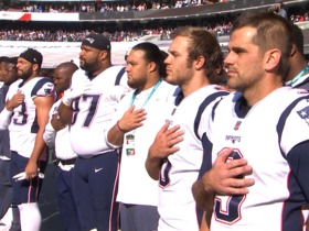 American national anthem performed in Mexico