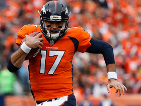 Brock Osweiler breaks loose, rushes for a first down