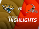 Watch: Jaguars vs. Browns highlights | Week 11