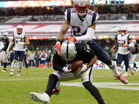 Watch: Carr throws absolute dart to Crabtree for two-point conversion