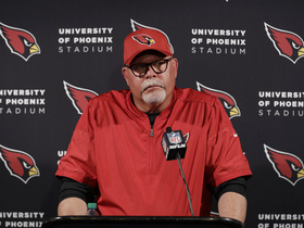 Watch: Bruce Arians on Week 11 loss: 'Very simple, I cost our team the game'