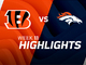 Watch: Bengals vs. Broncos highlights | Week 11