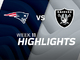 Watch: Patriots vs. Raiders highlights | Week 11