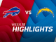 Watch: Bills vs. Chargers highlights | Week 11