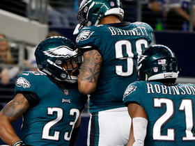 Watch: Rodney McLeod picks off Dak Prescott on tipped pass